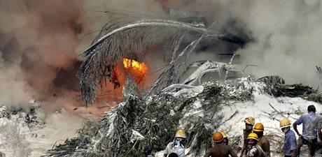 Havárie letadla indické společnosti Air India Express.