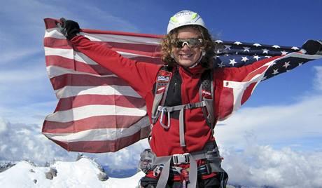 Nejmladší pokořitel Mount Everestu, třináctiletý Jordan Romero.