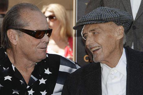 Dennis Hopper s kolegou Jackem Nicholsonem (2010)