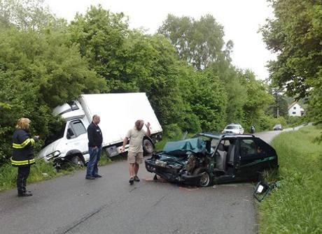 Při nehodě se zranili dva mladí lidé