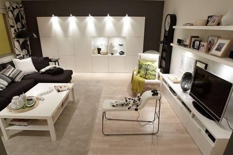 Expozice IKEA - osvětlení