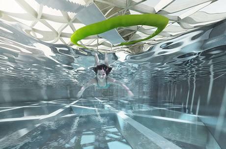 Návrh aquaparku