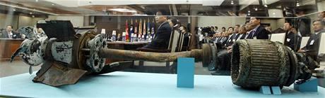 Severokorejské torpédo, které 26. března potopilo jihokorejskou loď Čchonan.