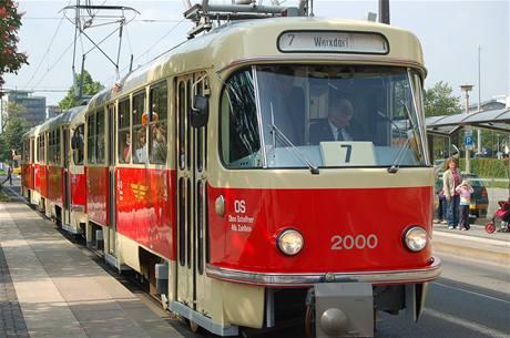 V Dráždanech po 41 letech dojezdily české tatrovky (29. května 2010)
