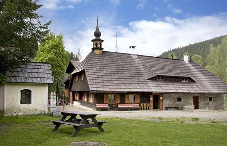 Šumava, historický dvorec Antýgl u Modravy
