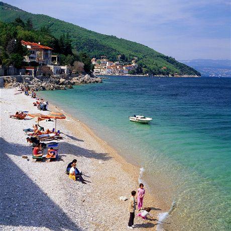 Chorvatsko, Mošćenička Draga poblíž Opatije