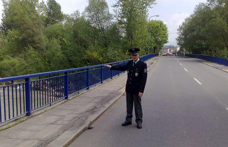 Prohnutý most v Kunčičkách