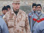 Výcvik afghánských policiistů.