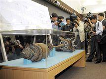 Torpédo KLDR, které potopilo jihokorejskou korvetu Čchonan (20. května 2010)