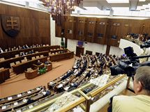 Slovenský parlament projednával návrh novely zákona o státním občanství (26. května 2010)