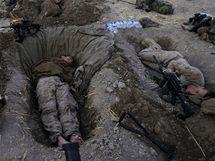 Příslušníci americké námořní pěchoty v Afghánistánu (8. června 2009)