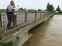 Starý hraniční přechod na Slovensko v Lanžhotě