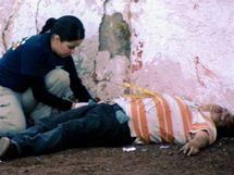Oběť drogového násilí v Ciudad Juárez