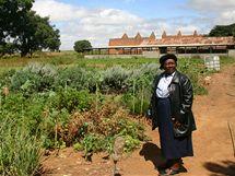 Farma ve městě Gweru, na které hospodaří už půl roku díky organizaci GWAPA a také penězům českého ministerstva zahraničí někdejší prostitutky.