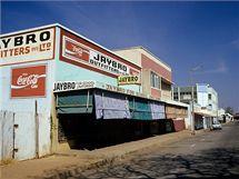 Ulice v zimbabwském městě Gweru.