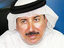 Katarský šejk Emir Hamad bin Khalifa al-Thani.