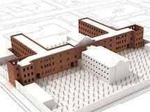 Věznice v Uherském Hradišti - návrhy na přestavbu pro muzeum totality.