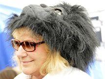 Na podporu goril běžela i herečka a malířka Iva Hüttnerová.