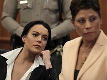 Lindsay Lohanová u soudu se svou obhájkyní