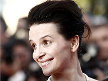 Juliette Binocheová v Cannes