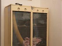 Původní skříňka pro fretku