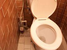 Zub času a dílčí opravy neprospěly ani WC