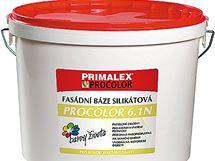 Silikátová fasádní barva Primalex Procolor je vhodná i pro sanační práce