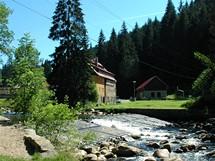 Šumava, hydroelektrárna na Čeňkově pile