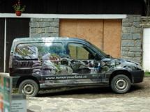 Šumava, Vydra, Turnerova chata, ekologický elektromobil