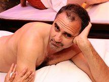 Jan Kalousek na thajské masáži