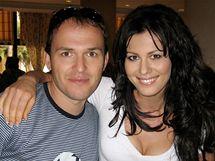 Jana Doleželová s partnerem na Kubě