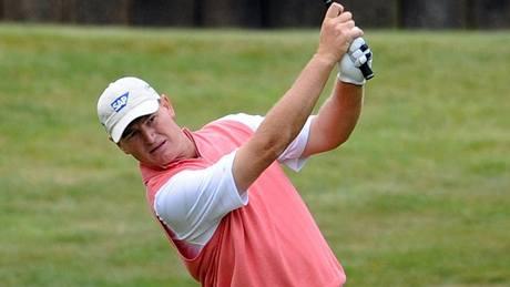 Ernie Els, první kolo BMW PGA Championship 2010.