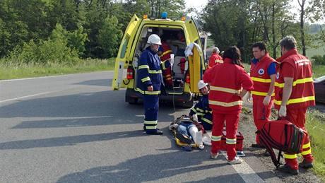 Tragická dopravní nehoda u obce Střílky