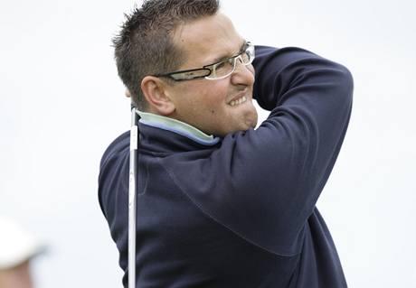 Viktor Skalle, druhé kolo Czech PGA Media Trophy 2010.