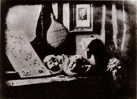 Nejstarší dochovaná daguerrotypie z roku 1837, autor: Louis Daguerre