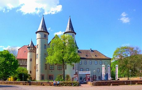 Německo, zámek v Lohru