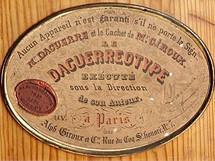 Daguerreův podpis na fotoaparátu