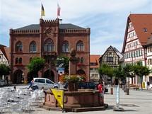 Německo, Mohanská cyklostezka, Tauberbischofsheim