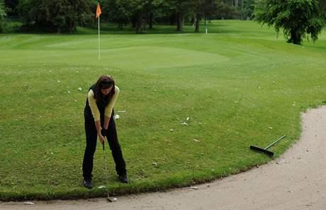 Seriál o golfových pravidlech - hra z bunkeru.