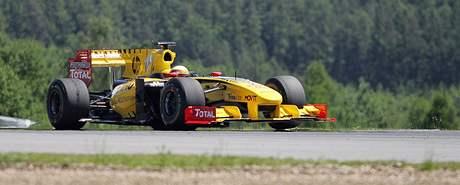 Masarykův okruh - prestižní světová série Renault. Prohlídka boxů,autogramiáda jezdců,exibiční jízda formule F1, závody formulí.