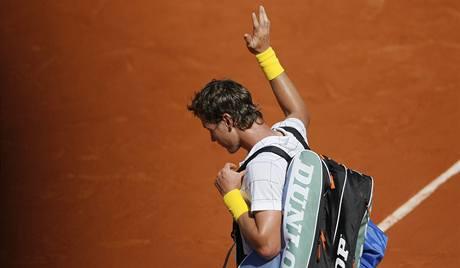 TAK ZASE ZA ROK. Tomáš Berdych se po prohraném semifinále loučí s Roland Garros