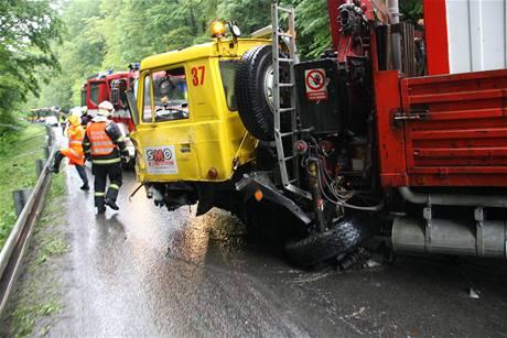 Tragická nehoda v Březnické ulici ve Zlíně (2.6.2010)