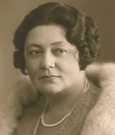 Matka Egona Bondyho - Magdalena Fišerová rozená Tkalců (ze Sobotky)