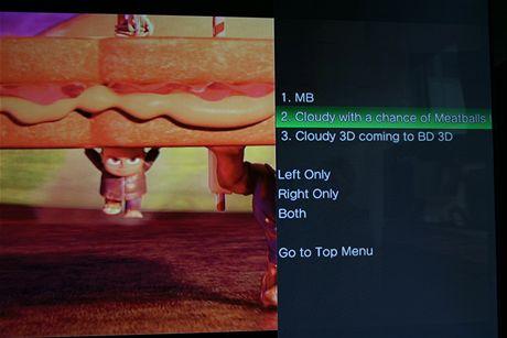 Sony 3D televize a Playstation 3 - 3D Zataženo občas trakaře