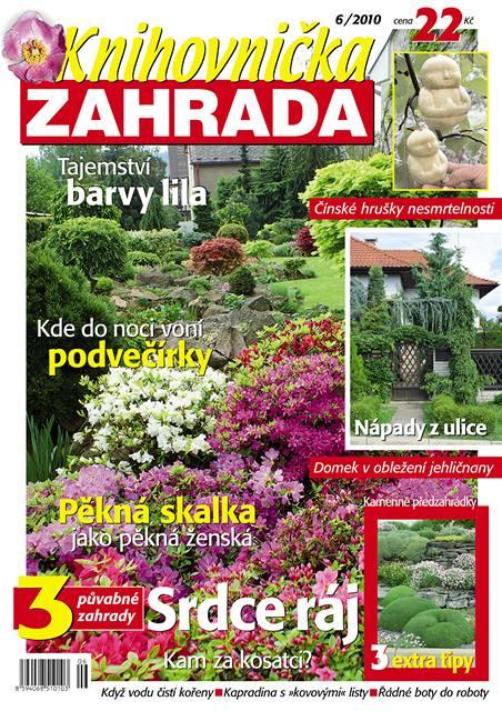 Tituln� strana �ervnov�ho ��sla �asopisu Knihovni�ka Zahrada.