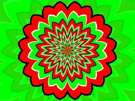 Optické iluze lidi baví, ale také pomáhají objasnit fungování lidského mozku - ilustrační foto