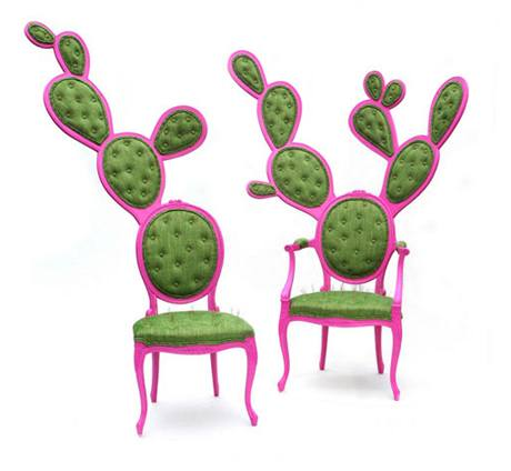 "Křesla ""Prickly Pair Chairs"""