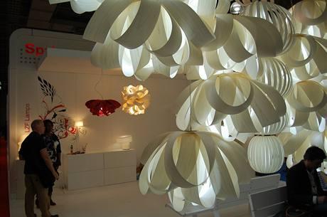 Stánek španělské firmy LZS Lamps