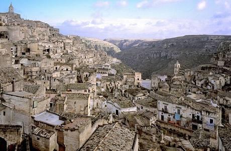 """Matera - město, kterému se přezdívalo """"hlavní město bídy"""""""