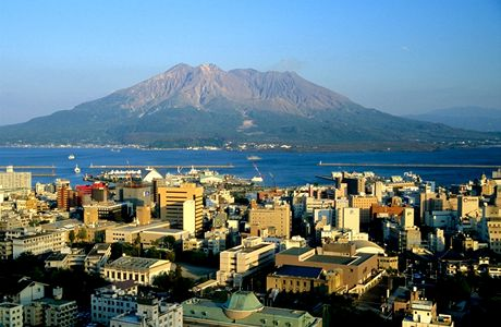 Japonsko, Sakurajima